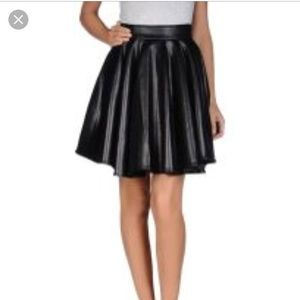 Leather skirt only worn once